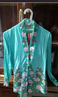Kebaya encim tosca full set