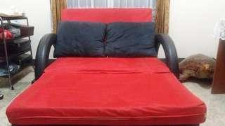 Sofa Bed + 2 Bantal