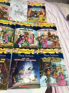 Thea Stilton books brand new unread unused hot sale