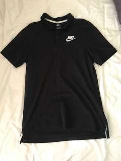 Nike black polo
