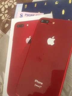 iPhone 8 plus red (HDC) preloved pemakaian 1bln.