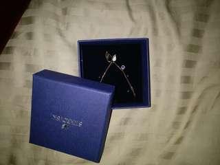 Swarovski Duo Wing Necklace
