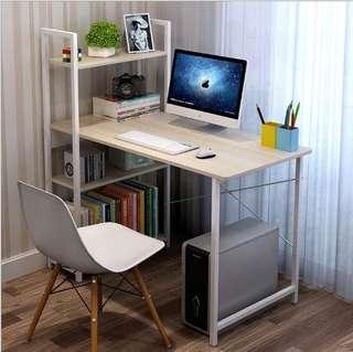 💥Modern Computer Laptop Desk Study Table With BookShelf💥