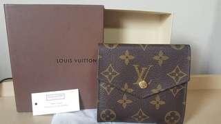 Authentic LV Mono Short wallet