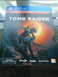 WTS Shadow of the Tomb Raider Limited Steel Book Edition
