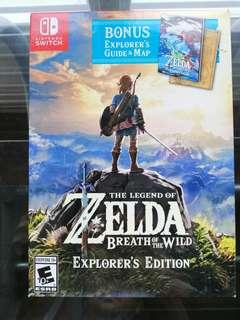 WTS The Legend of Zelda Breath of the Wild Explorer's Edition
