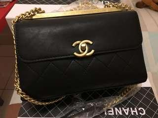 Chanel Vintage Leather Bag