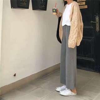 Long Grey Pants