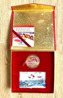 Singapore Mint Silver Proof Coin