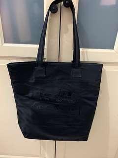 🚚 Coach正版黑色環保袋、購物袋(可裝A4)
