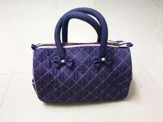 Naraya Denim Boston Bag