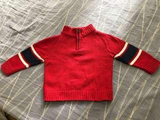 OshKosh 12 Months Baby Sweater Winter Clothes 衛衣