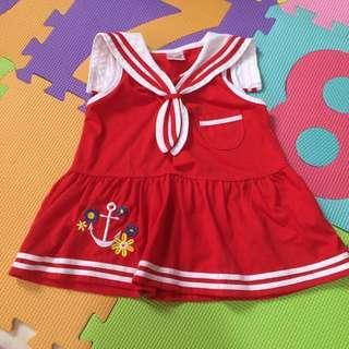 Sailor dress sleeveless