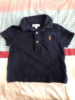 Ralph Lauren 6M 6 Months Polo Shirt Baby Boy