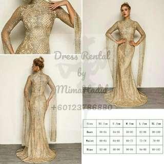 RENTAL • Glitter Dress