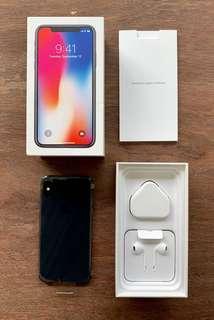 iPhoneX 256 NEW AppleCare+/Warranty