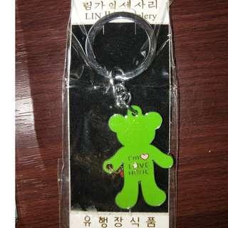 韓國熊熊鑰匙圈 鑰匙圈 熊熊鑰匙圈 戀愛鑰匙圈 [現貨][當日出貨] 台北捷運可面交
