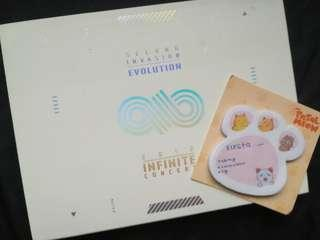 INFINITE SECOND INVASION EVOLUTION DVD