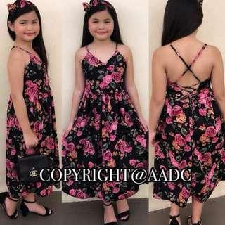 Kids OOTD Floral Dress