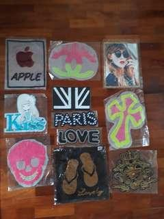 Assorted Sew On Patch