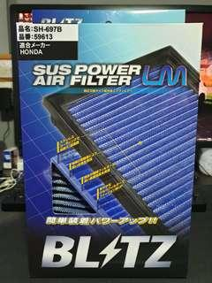 Brand new Blitz drop in air filter for Honda GK