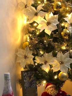 5ft Christmas Tree w/ decors and LED lights