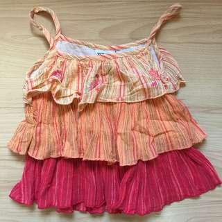 Young Hearts Boho top Size 6