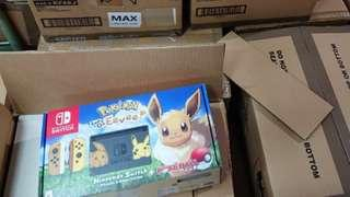 Limited Nintendo switch Pokémon let's go Eevee
