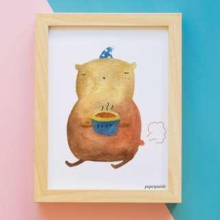 Bear // Art Print