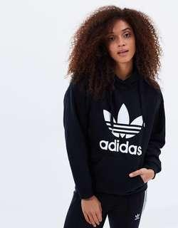 Adidas Trefoil Hoodie - black