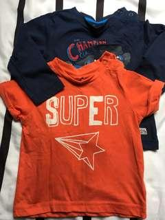 PRELOVED Mothercare Baby Tshirts