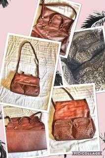 2 way Brown bag