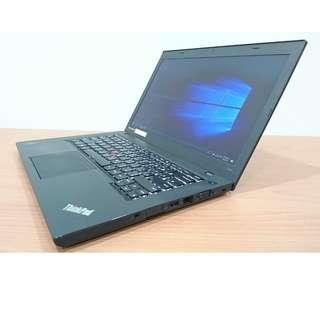【14吋】聯想 LENOVO T440 四代I7+8G+256GSSD+高清HD螢幕 背光鍵盤 小紅點設計 8成新