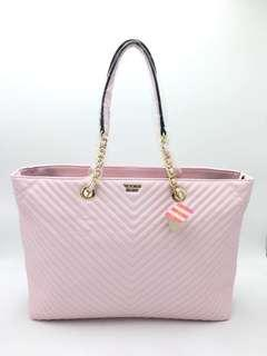 Victoria's Secret V Quilt Everything Tote