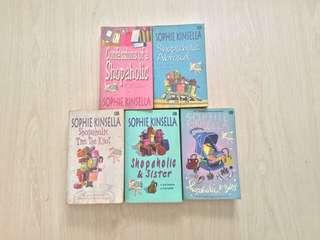 Novel bekas | Chicklit | Shopaholic (5 buku) by Sophie Kinsella