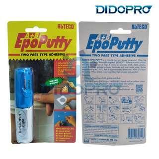 Lem EpoPutty Alteco / Epoxy / Epo Putty / Lem tambal serba guna