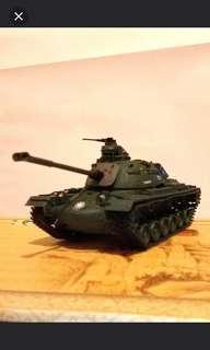M48戰車模型成品