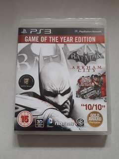 Batman Arkham City (GOTYE) (3D Compatible)