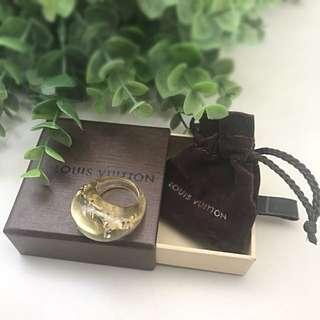 LOUIS VUITTON LV INCLUSION RING 💯% AUTHENTIC (with receipt)