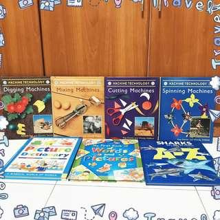 🌤️ non-fiction children's titles picture books pictionary clearance