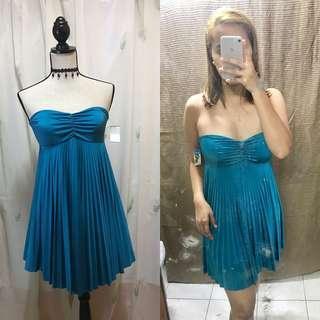 Bluegreen Tube Dress