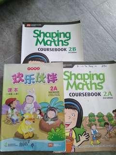 To blessed: P1 and P2 textbooks