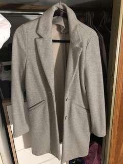 ZARA - Long grey overcoat