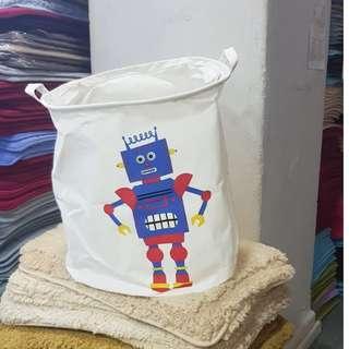 Robot laundry basket