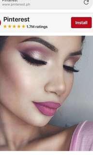 Pink glossy lipstick with free matte liquid lipstick