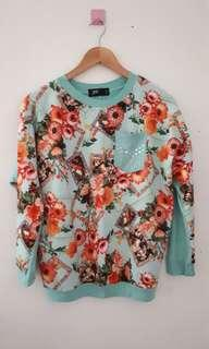 Flower Top Puricia Blue (New)