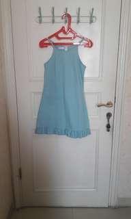 NEW BABY BLUE DRESS