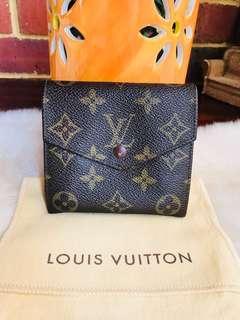 ❤️SALE❤️ Authentic Vintage Louis Vuitton Portefeuille Elise Trifold Wallet