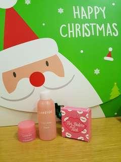 Laneige Tin Balm Tint ;No.6 pink marmade 12g free lip mask bonis toner50ml