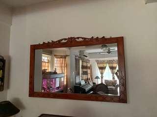 Big mirror (cermin dinding)